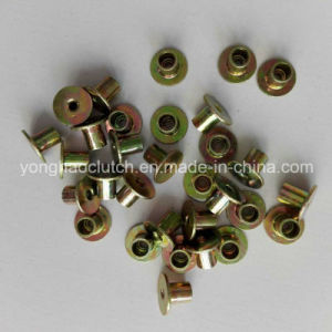 Steel Clutch Facing Rivets 4X6 J3.5 Nickel Plated pictures & photos