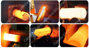 Low Energy Consumption Induction Heater Extruder Element for Metal Heating Machine pictures & photos