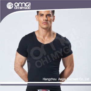 Men′s Fashion Top Quality Pima Cotton T-Shirt (553)