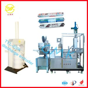Top Sale Great Wall Sausage Automatic Silicone Sealant Packaging Machine pictures & photos