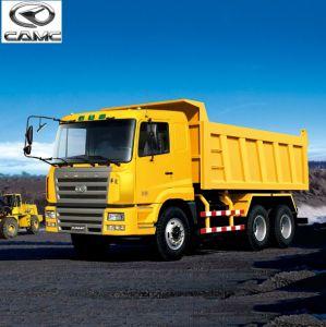 Heavy Truck Dumper 4-Wheels Drive Camc Dump Truck 6*4