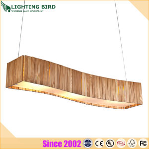 Modern Simple European Wood Pendent Lamp