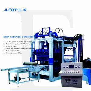 Qt10-15 Fully Automatic Concrete Brick Making Machine, Technology Brick Making Machine, Concrete Brick Machine