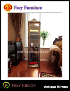Popular Platane Wood Pier Glass Mirror with Antique Gold