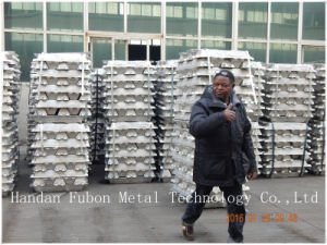 Fubon Aluminium Ingot 99.70% (AL05) with SGS/CIQ pictures & photos