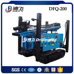 Dfq-200 200m DTH Drilling Machine Working with Air Compressor pictures & photos