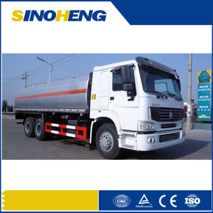 Sinotruk Fuel Bowser Truck/HOWO 6X4 Fuel Tanker Truck 25cbm pictures & photos
