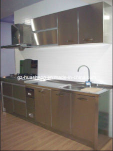 Metal Kitchen Cabinet for Wash Sink (HS-027) pictures & photos