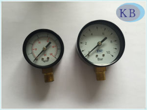 63mm Dry Type Manometer Steel Case pictures & photos