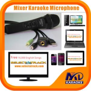 Mixer Karaoke Microphone Echo Volume Controller