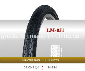 Bicycle Tyre/Tire Cycle Bike MTB (54-584 26X1-1/2) pictures & photos
