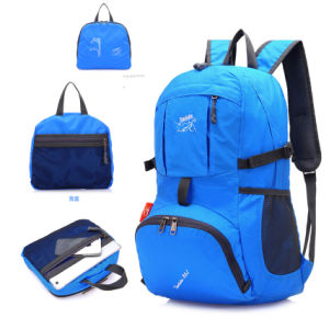 Nylon Polyester Waterproof Lightweight Foldable Travel Hiking Backpack pictures & photos
