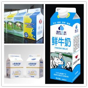 3 Layer 500ml Soy Milk Gable Top Carton pictures & photos