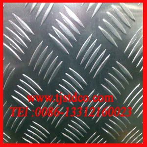 1060 6061 Alum Checker / 5 Bar Tread Plate pictures & photos