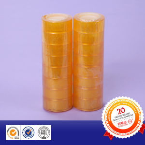 Professional Manufacturer Water Based Acrylic BOPP Adhesive Stationery Tape pictures & photos