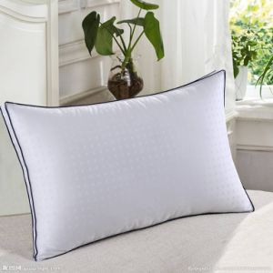 Hot Sale Bed Pillow Microfiber Pillow with 2.5cm Gusset pictures & photos