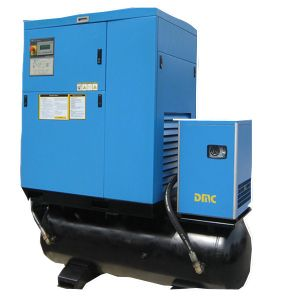 22kw Screw Compressor with Dryer and Tank pictures & photos