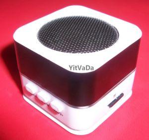 Hifi Mini Speaker With FM Radio and Li-Battery
