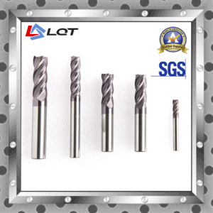 Tungsten Steel Carbide End Mill for HRC 60 Degree pictures & photos