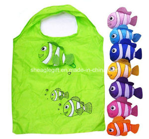 Cute Animal Cat Design Wholesale Cheap Polyester Shopping Bag pictures & photos
