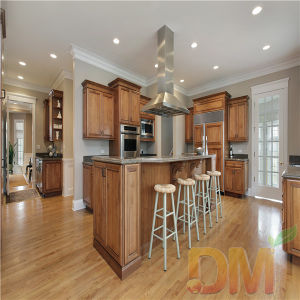 Maple Glazed Classic American Kitchen Cabinet