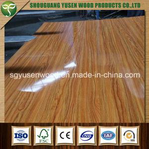 UV MDF, UV Coated Fiberboard, UV Laminated Fiberboard pictures & photos