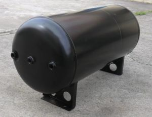 Compressed Double Chamber Air Storage Tank Trailer pictures & photos