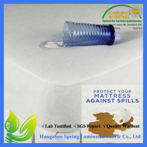 Eco Friendly Fitted Waterproof Small Double Mattress Protector pictures & photos