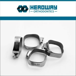 Headway Orthodontic Dental Bands with Buccal Tubes pictures & photos