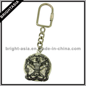 3D Metal Key Ring for Promotional Gift for Army (BYH-10738) pictures & photos