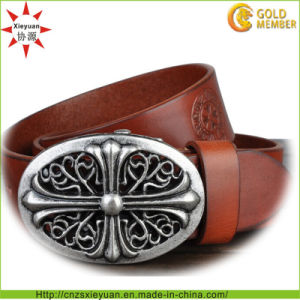 Custom Leather Belt Buckle pictures & photos