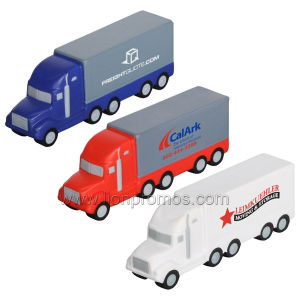 Logistic Service Gifts PU Foam Truck Model pictures & photos