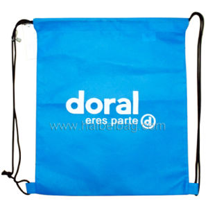 Non Woven Drawstring Bag, Drawstring Backpack (HBNB-30) pictures & photos