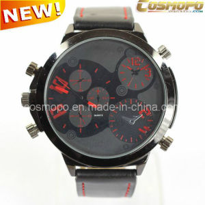 Multi-Fuction Men Leather Watch (SA1132-1)