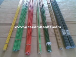 Colorful Pultrusion Fiberglass Rods, Sticks, Poles