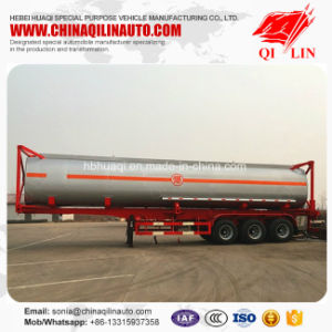 3 Axles 30cbm - 50cbm Volume Container Tanker Trailer pictures & photos