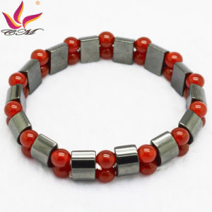 Htb090 Fashion Bracelet High Quality Handmade Hematite Bead Jewelry pictures & photos