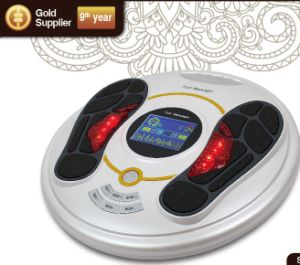 Patented Electronic Pulse Foot Body Massager with Large Color LCD Scree Display