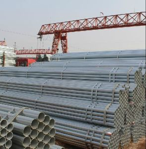 Hot Dipped Galvanized 1inch-2inch Steel Tube/Pipe for Building pictures & photos