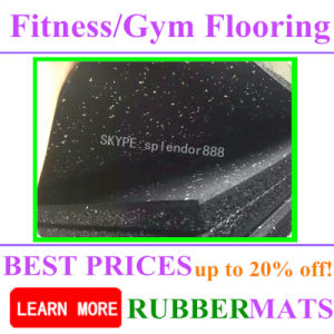 Home Rubber Gym Flooring for Shops pictures & photos