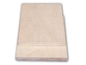 E1 Poplar Core Birch Faced Plywood pictures & photos