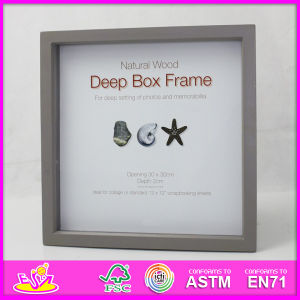 2014 Hot Sale New High Quality (W09A013) En71 Light Classic Fashion Picture Photo Frames, Photo Picture Art Frame, Wooden Gift Home Decortion Frame pictures & photos