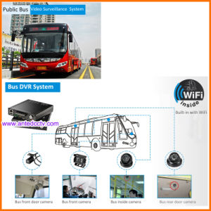 4CH 8CH Mobile Video Recording Systems 4G 3G GPS Live pictures & photos