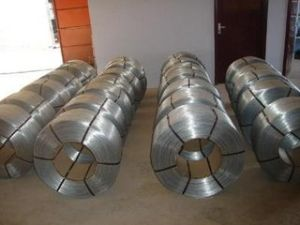 Big Coil Electro Hot DIP Galvanized Metal Wire for Building (Anjia-210) pictures & photos