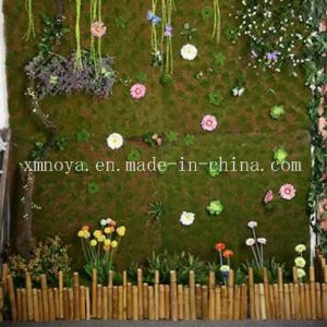 Cheap Artificial Synthetic Plastic Green Moss Grass Wall for Decoration pictures & photos