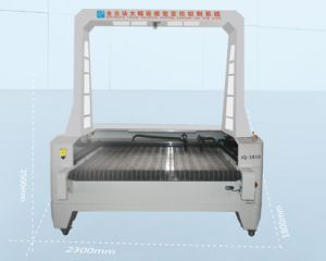 1810 Fabric Laser Cutting with Camera High Vision pictures & photos