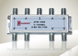 8-Way CATV Splitter (GYB-1008)