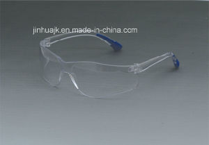 Safety Glasses (JK12007-Blue+Clear) pictures & photos
