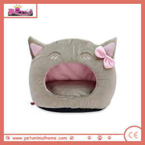 Cartoon Lovely Cat Pet Bed in Brown pictures & photos