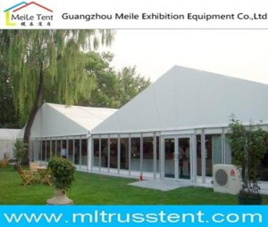 20mx40m Big White Party Tent with Glass Side Wall pictures & photos